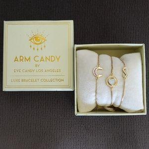 Arm💪Candy🍭Set of Three3️⃣ Pull Bracelets